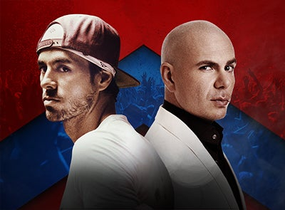 ENRIQUE IGLESIAS AND PITBULL Live!