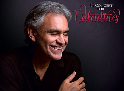 CANCELLED: ANDREA BOCELLI CONCERT FEB 9, 2020