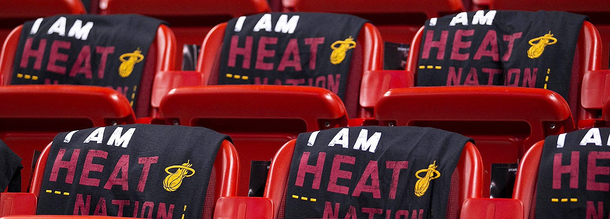 photo relating to Miami Heat Printable Schedule referred to as Miami Warmth AmericanAirlines Arena
