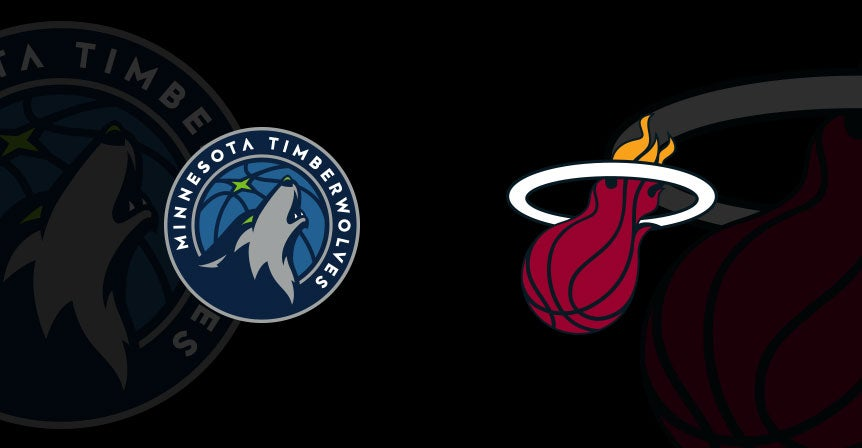 96910845a5 Minnesota Timberwolves vs. Miami HEAT